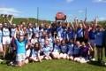 Under 14 girls football Winners.