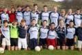 Under 14 football boys.
